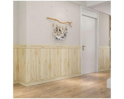Wallpaper Dinding Terbaik Tridee Plain Wood–POE05