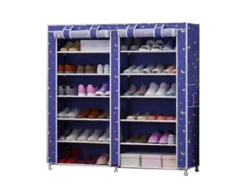 Gambar Rak Sepatu Simple Damura Double Shoe Rack 12 Layers