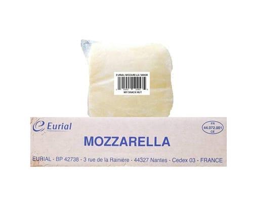 Keju Mozarella Terbaik Eurial France Mozzarella