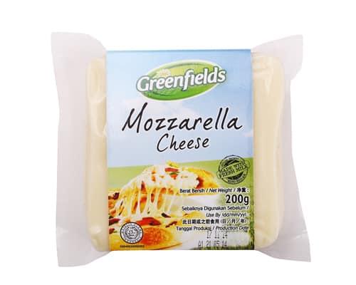 Keju Mozarella Terbaik Greenfields Mozzarella Chees