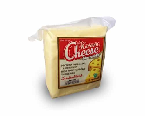 Keju Mozarella Terbaik Kareem Cheese Mozzarella