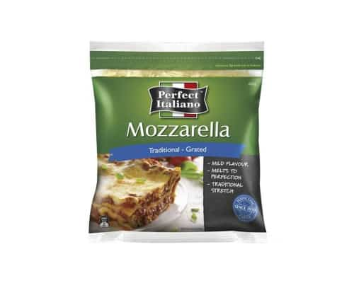Keju Mozarella Terbaik Perfect Italiano Shredded Mozzarella