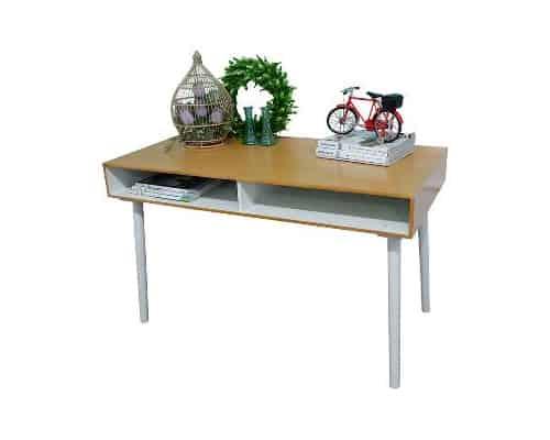Gambar Meja Belajar Minimalis Terbaik The Olive House Smart Desk Tanpa Laci