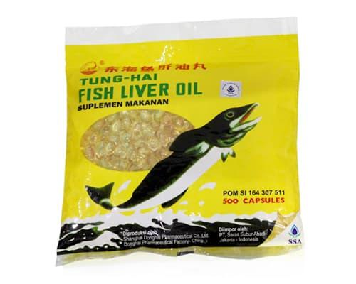 Gambar Minyak Ikan Terbaik Tung Hai Fish Liver Oil