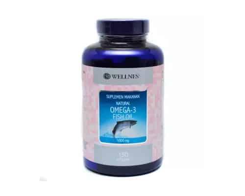 Gambar Minyak Ikan Terbaik Wellness Natural Omega-3 Fish Oil
