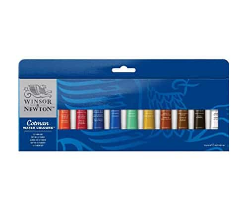 Cat Air - Winsor _ Newton Cotman Water Colours Tube