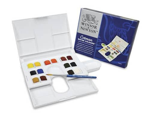 Cat Air - Winsor _ Newton Cotman Water Colours