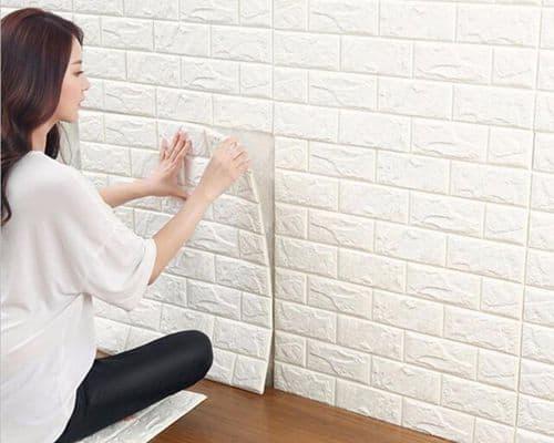 Gambar Wallpaper Dinding Terbaik Xoxo Corner Sticker Wallpaper 3D