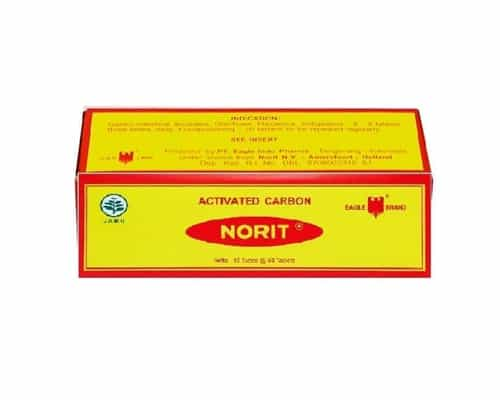 Obat Diare Cap Lang Norit Activated Carbon