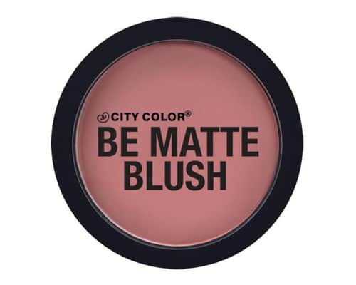 Blush On Terbaik City Color Be Matte Blush