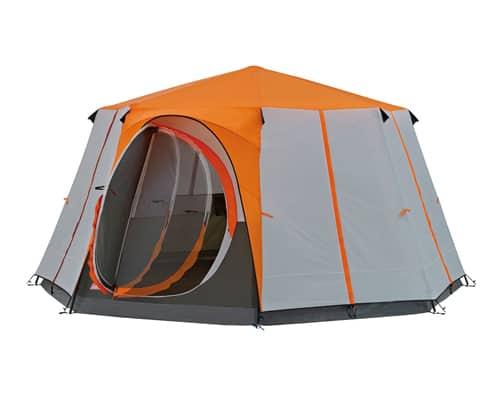 Gambar Tenda Camping Terbaik Coleman Cortes Octagon 8 Orange