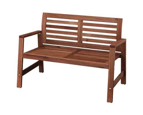 Kursi Taman Terbaik Ikea Applaro Bench with Backrest