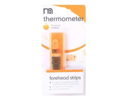 Termometer Mothercare Forehead Thermometer Strips