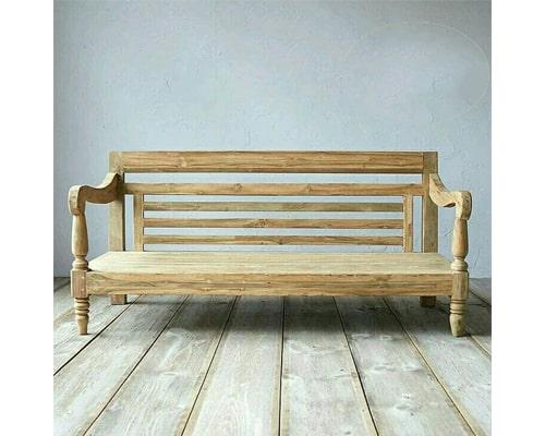 Gambar Kursi Taman Mustika Indah Furniture Bale-Bale Antik