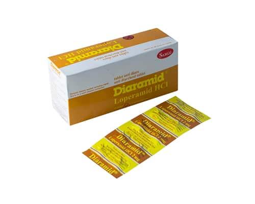 Obat Diare Samcofarma Diaramid Loperamide HCl