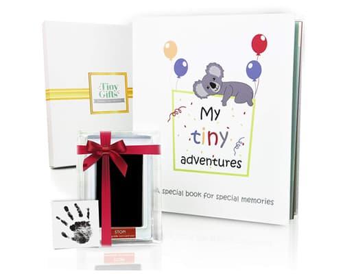 Gambar Album Foto Terbaik Tiny Gifts Baby Book