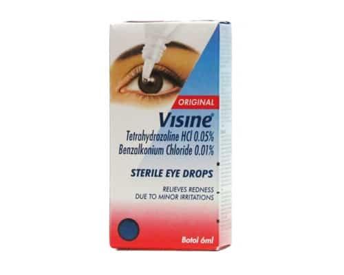 Gambar Obat Tetes Mata Visine Original Sterile Eye Drops
