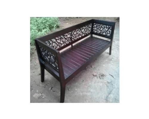 Gambar Kursi Taman Wood Art Furniture Jepara Bale