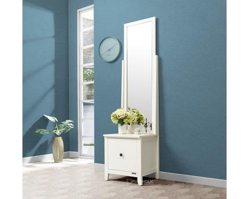 Meja Rias iFurnholic Jeniffer Storage Mirror