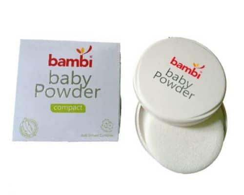 Bedak Bayi Bambi Baby Compact Powder