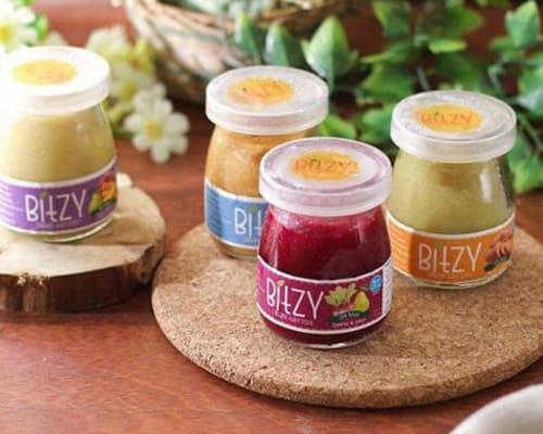 Rekomendasi Bubur Bayi Instan Terbaik Bitzy Organic Baby Puree