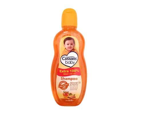 Rekomendasi Shampo Bayi Terbaik Cussons Baby Almond Oil and Honey Baby Shampoo
