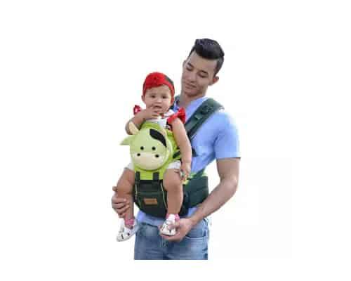Gendongan Bayi Dialogue Baby Hipseat Milky Series DGG4136