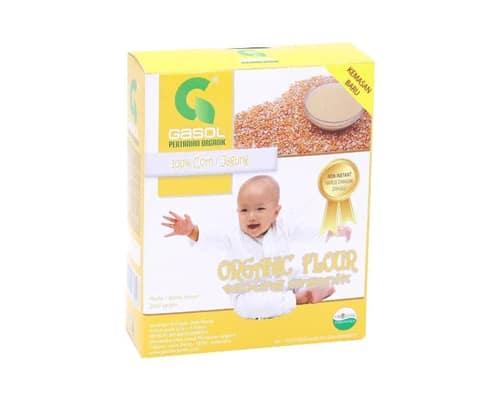 Bubur Bayi Instan Terbaik Gasol Organik Tepung Jagung