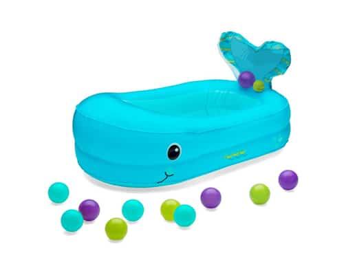 Gambar Bak Mandi Bayi Infantino Whale Bubble Bath Inflatable Bath Tub