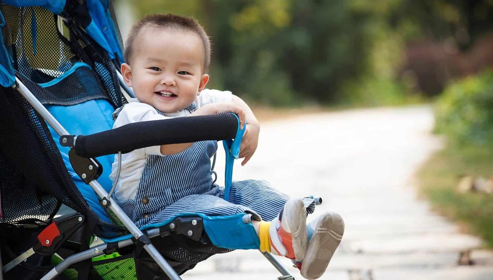 Gambar Lightweight Stroller Kereta Dorong Bayi