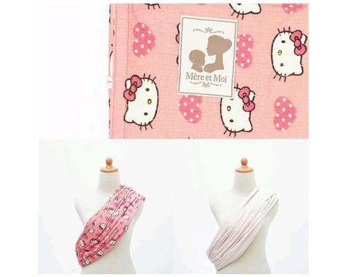 Rekomendasi Gendongan Bayi Terbaik Mere et Moi Premium Geos Soft Hello Kitty AccMere et Moi Premium Geos Soft Hello Kitty Acc
