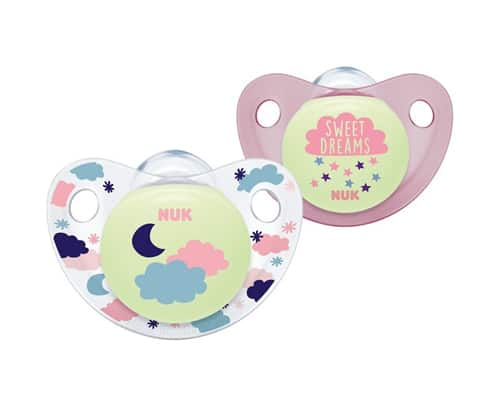 NUK Night _ Day Silicone Soother Size 2