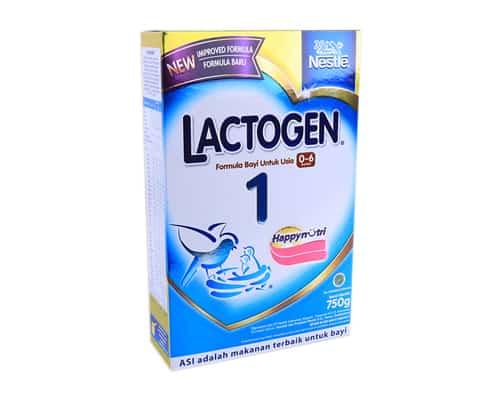 Susu Formula untuk Bayi Terbaik Nestle Lactogen 1 Gold