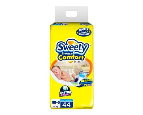 Sweety Bronze Comfort Extra Lembut NB-S