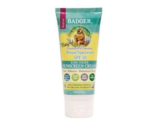 Sunblock untuk Bayi Badger Baby Sunscreen Cream SPF 30