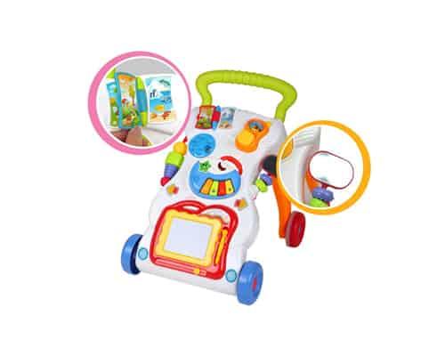 Mainan Edukasi Anak usia 0 sampai 1 Tahun Beiens Musical Walker B8202