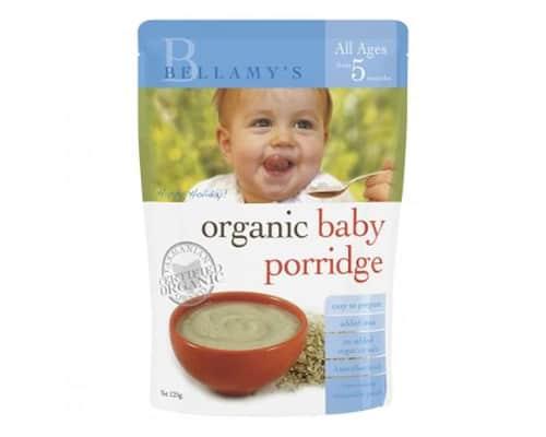 Bubur Bayi Organik Terbaik Bellamy's Organic Baby Porridge