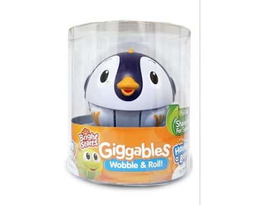 Mainan Anak Bayi 0 Sampai 1 Tahun Bright Starts Giggables Penguin