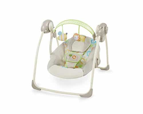 Electric baby bouncer Bright Starts Soothe and Delight Portable Swing