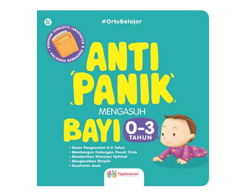 Hadiah untuk Bayi Buku Anti Panik Mengasuh Bayi 0-3 Tahun