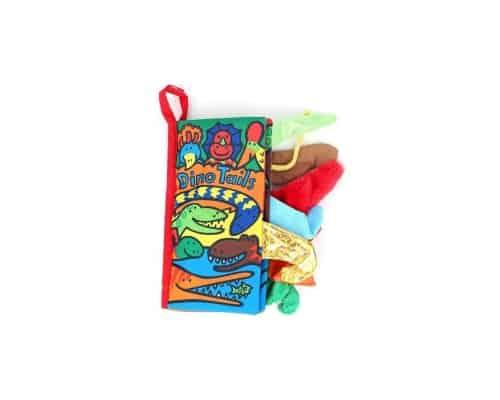 Mainan Bayi EELIC Soft Cloth Book Dino Tails