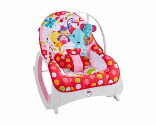 Electric baby bouncer Fisher-Price Multifunctional Newborn-to-Toddler Electric Rocker