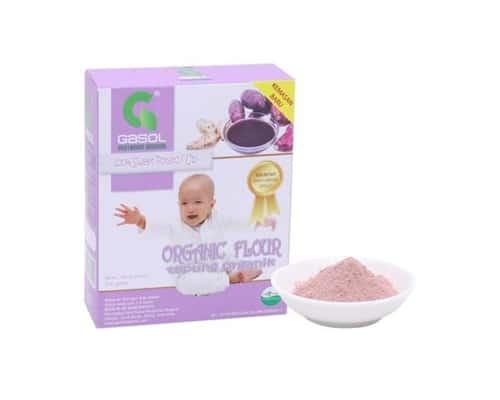 Bubur Bayi Organik Gasol Organik Tepung Ubi