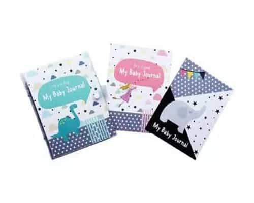 Hadiah untuk Bayi Hugmemom My Baby Journal