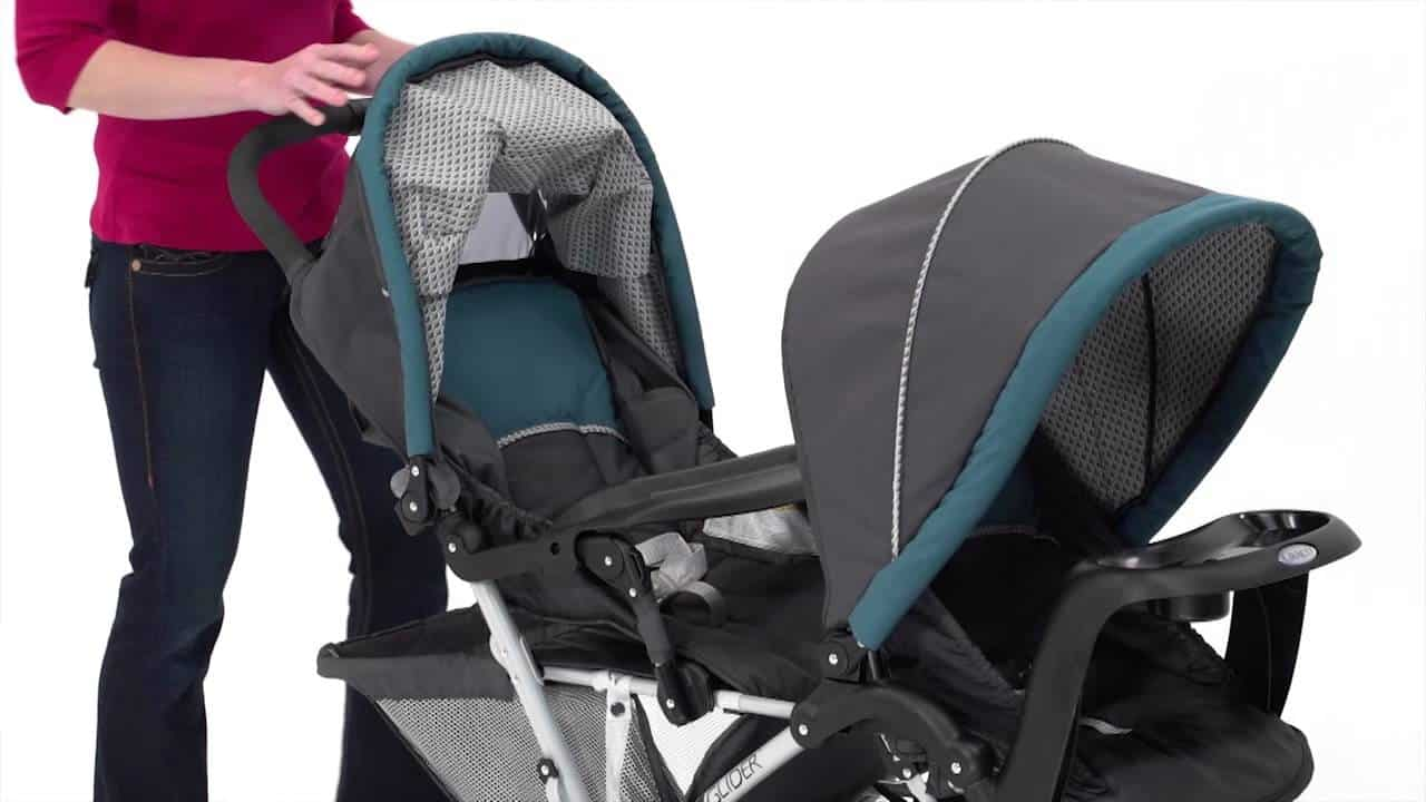 Kereta Dorong untuk Bayi Kembar Ringan