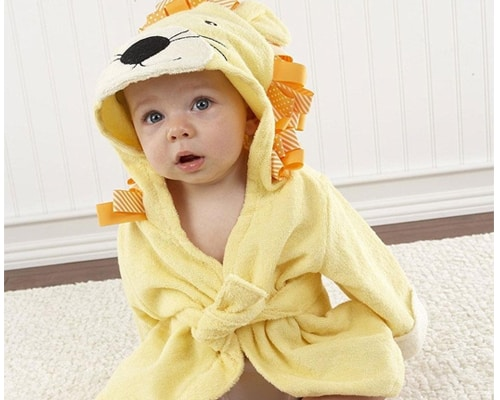 Handuk Bayi Kobwa Hooded Towel