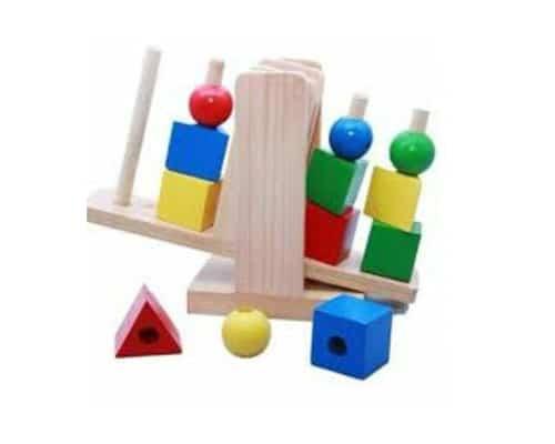 Mainan Edukasi Balance Shapes