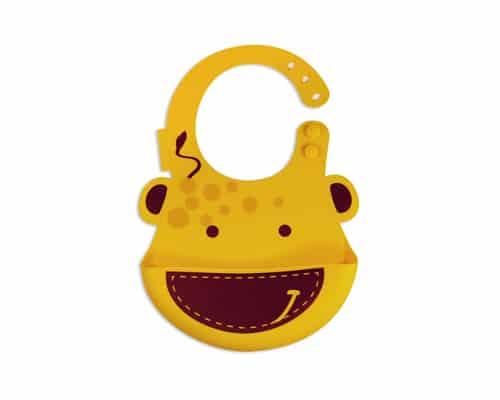 Rekomendasi Celemek Bayi Terbaik Marcus & Marcus Baby Bib Giraffe