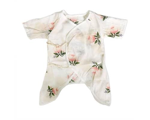 Romper Bayi Terbaik Muslin Newborn Kimono Romper