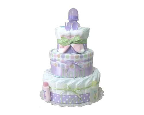 Hadiah untuk Bayi Newborn Baby Diaper Cake